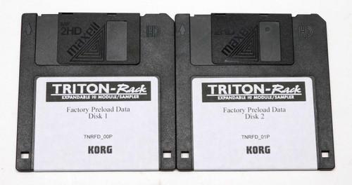 Korg Triton Rack Factory Preload Disks