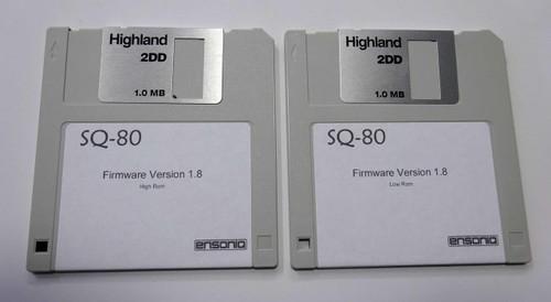 Ensoniq SQ80 Firmware Version 1.8