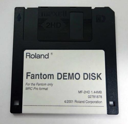 Roland Fantom Demo Disk