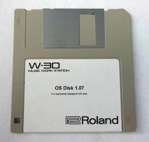 Roland W-30 Operating System Disk Version 1.07