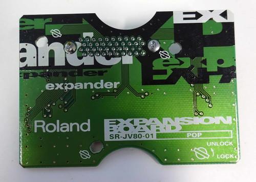 Roland SR-JV80-01 Pop Expansion Card