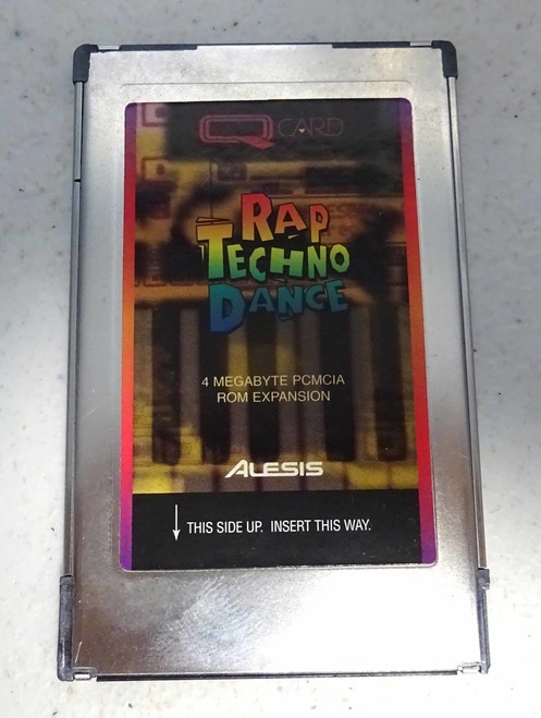 Alesis Rap Techno Dance QCard