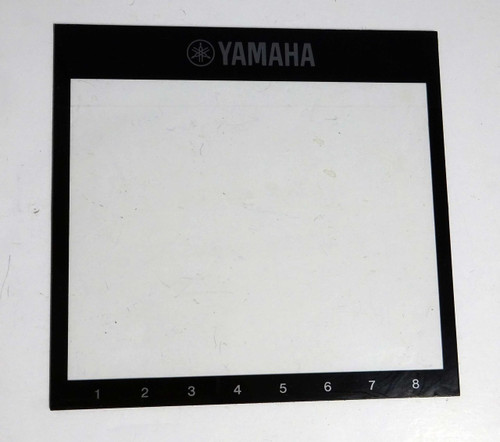 Yamaha PSR-A2000 Clear Plastic Display Screen Cover