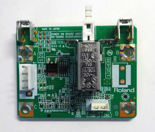 Roland RD-300nx Power Switch Board