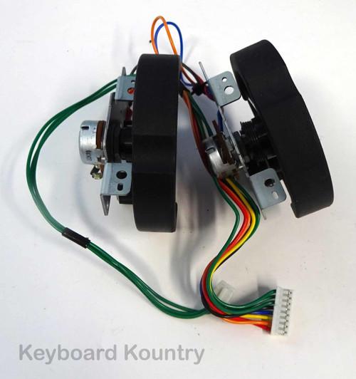 Yamaha Motif XF8 Pitch Bend Mod Wheel Assembly