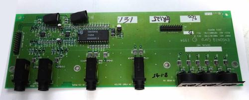 Ensoniq KT-76 Jack Board