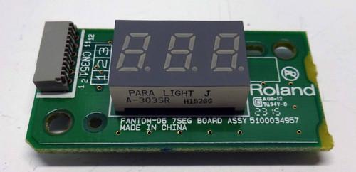 Roland FA-06/08 7-Seg Board