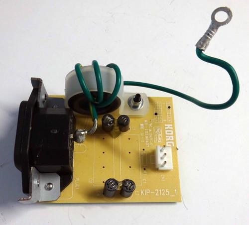 Korg SV-1 Power Inlet Board (Kip-2125_1)