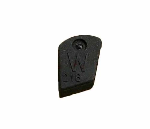 White hammer cap