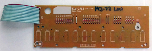 Korg M3 Low Key Contact Board for 73 Note Keyboard