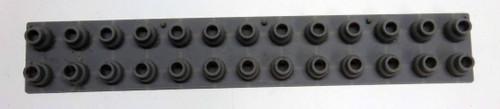 Casio CTK-550 13 Note Rubber Key Contact Strip