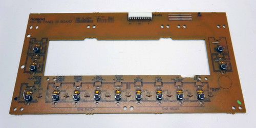 Roland XV-88 Panel B Switch Board