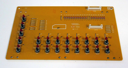 Korg SG Pro/X Right Panel Board (KLM-1992)