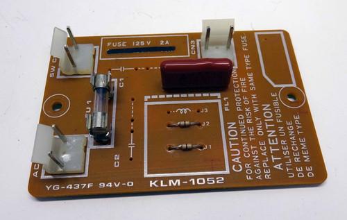 Korg SG-1 KLM-1052 Fuse Board