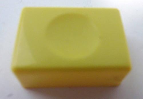 Wurlitzer P-100 Yellow Button Cap