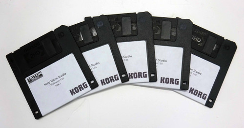 Korg Triton Studio OS Version 1.03 Five Disk set