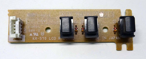 ROLAND KR-770 LCD R Board with Button Caps