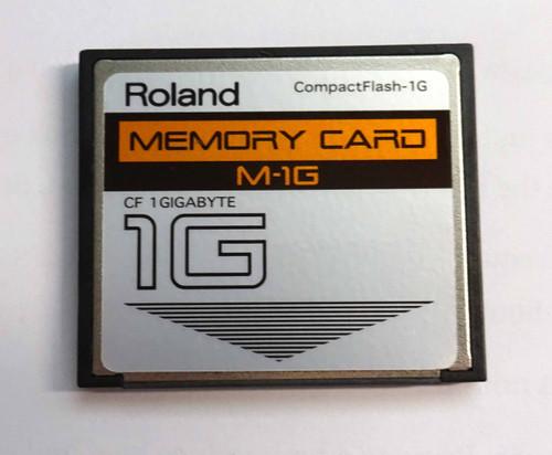 Roland 1G Memory Card