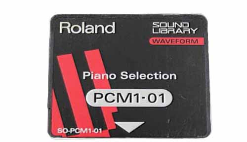 Roland PCM1-01 Piano Selection Expansion Card