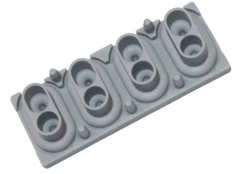 4 Note Rubber Key Contact for Korg Kronos 88, M50-88, D1 & SV-1