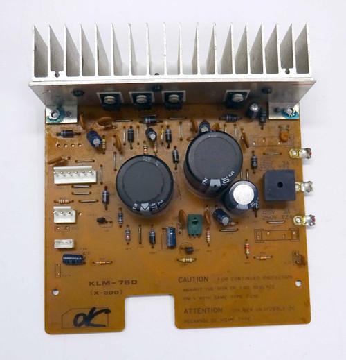 Korg DW-8000 Power Supply Board with Heat Sync (KLM-760)