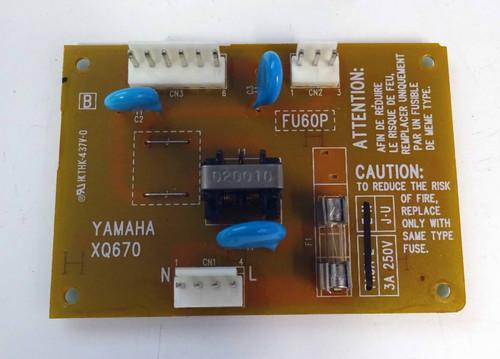 Yamaha P-150/200 Fuse (FU60P) Board
