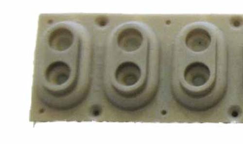 Key Contact strip, 3-notes, for Triton LE, Studio 88, Extreme 88 & Some PA Series