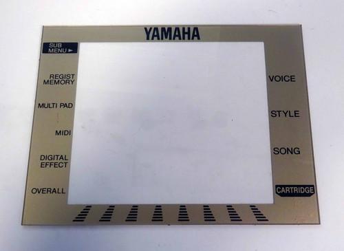 Yamaha PSR-330 Clear Display Cover with Menu Titles