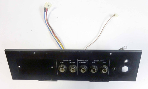 Korg CX3 Jack Panel