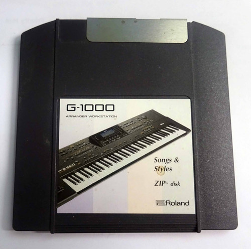 Roland G-1000 Songs & Styles Zip Disk