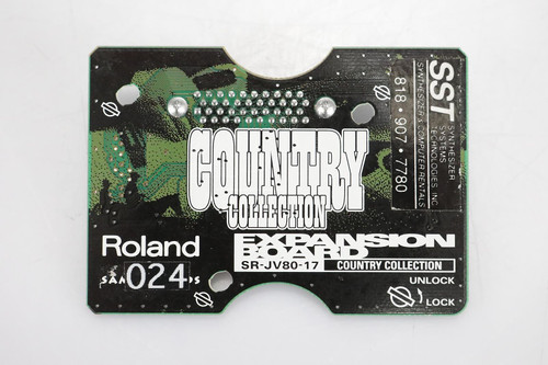 Roland SR-JV80-17 Country Collection