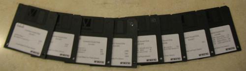 Ensoniq ASR-10 Full Set of Original Issue Sound Disks