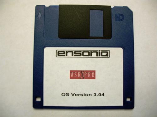 Ensoniq ASR X Pro Operating System Disk v 3.04 OS boot