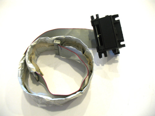 Ensoniq ESQ-1 Cartridge receptacle with ribbon cable