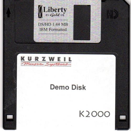 Kurzweil K2000 Demo Disk