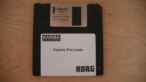 Korg Karma Factory Preloads with Demo Songs