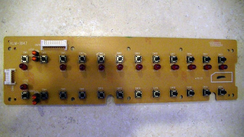 Korg Prophecy Part KLM-1847 Right Panel Control Board