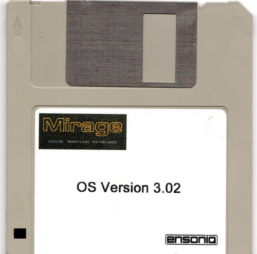 Ensoniq Mirage OS Version 3.02 Boot Disk