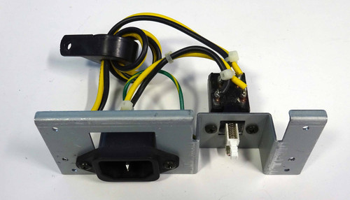 Power inlet module with switch, AC power connector and wiring for the Korg SG ProX