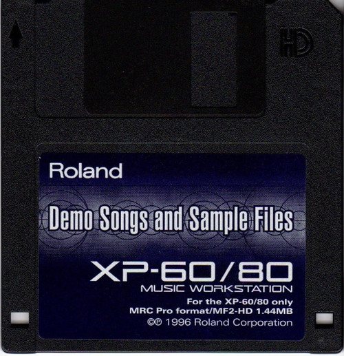 Roland XP-60/80 Factory Demo Disk