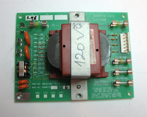 Ensoniq SQ1 or SQ2 Power Supply Board