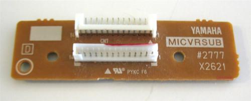 Yamaha MICVRSUB Board
