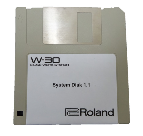 Roland W-30 Operating System Disk Version 1.1