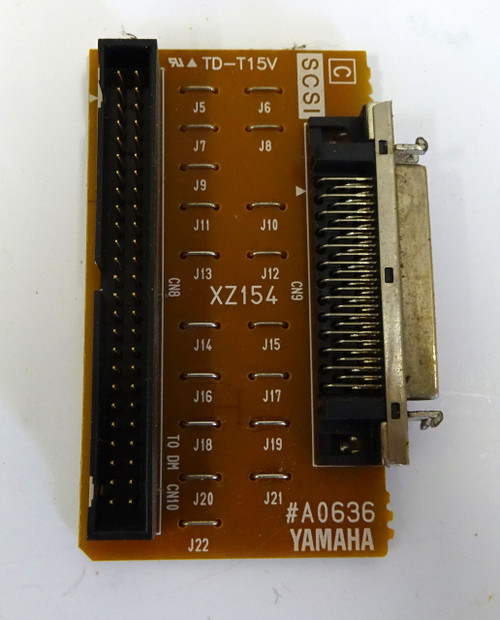 Yamaha Motif 6 SCSI Board