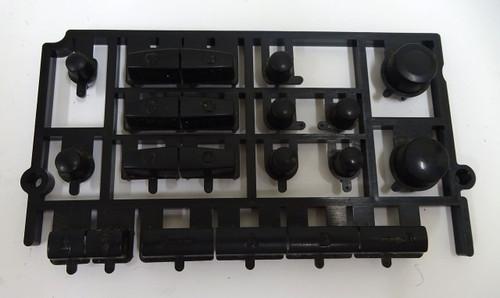 Yamaha PSR-530 Left Side Panel Button Assembly