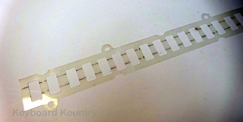 Replacement Clear Plastic Contact Strip Cover For SY22/35/55 & MO6