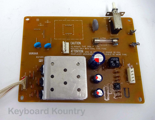 Power Supply Board (PS) For Yamaha SY55