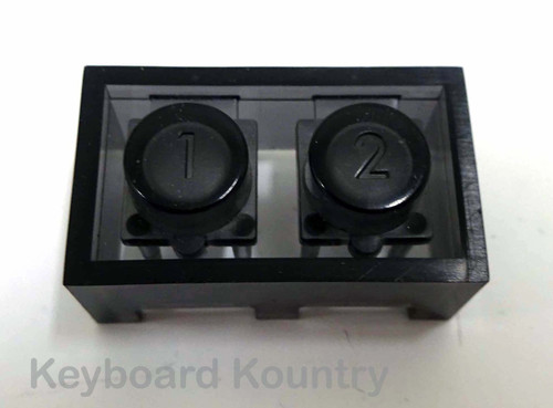 Number 1, 2 Button Cap for Korg M-50
