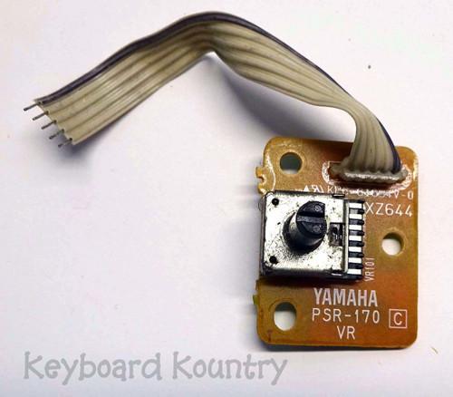 Yamaha PSR-170 Volume Control Board (VR Board)