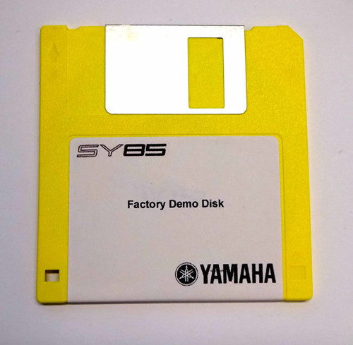 Yamaha SY85 Factory Demo Disk